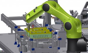 Montageautomation mit Roboter
